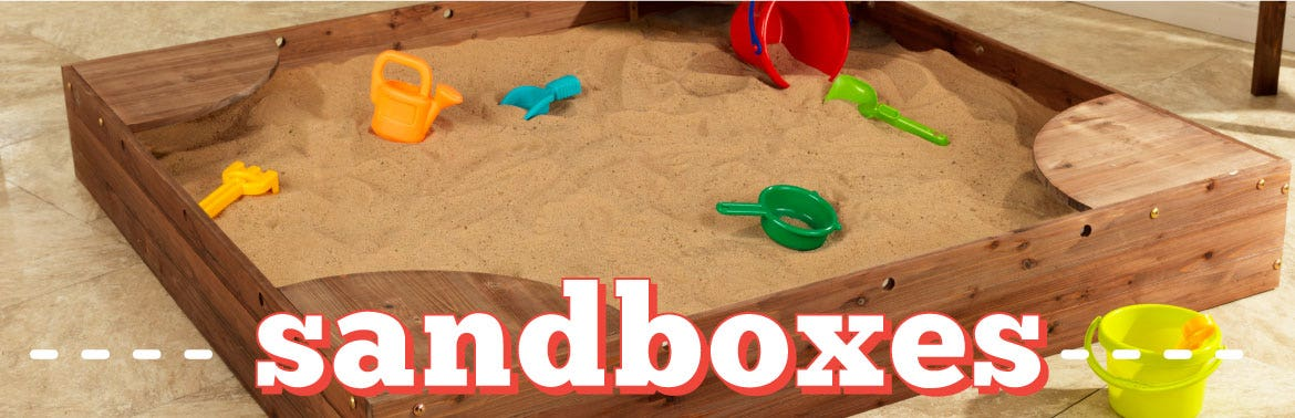Sandboxes & Outdoor Sandboxes u0026 Accessories | KidKraft