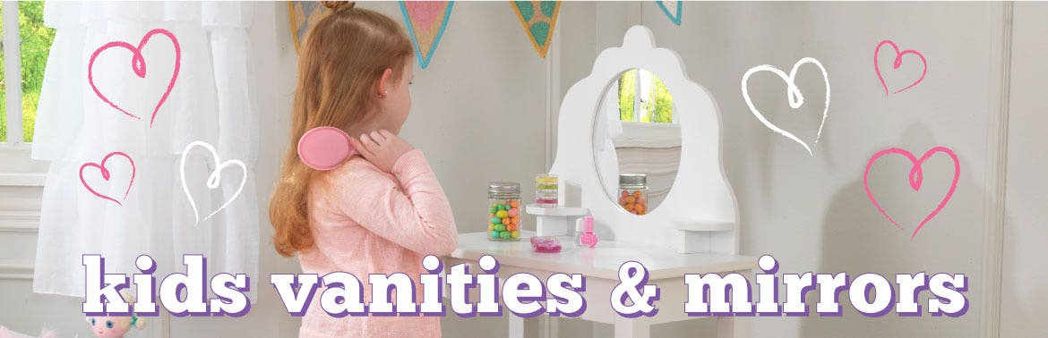 Kids Vanities & Mirrors