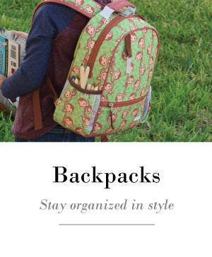 Backpacks are a stylish accessory that keeps kids organized