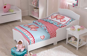 Racecar Toddler Bed Nantucket Bedroom Collection