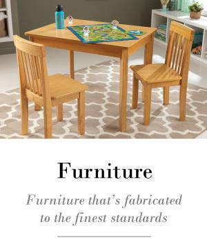 Children's table and chair sets for every occasion.