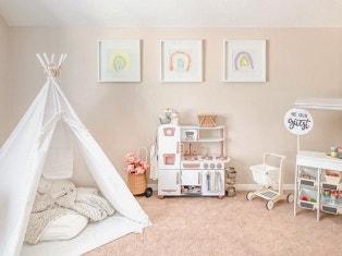 Affordable Playroom Organization Ideas