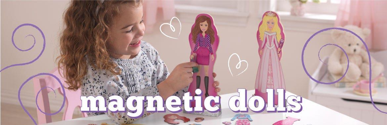 Magnetic Dolls