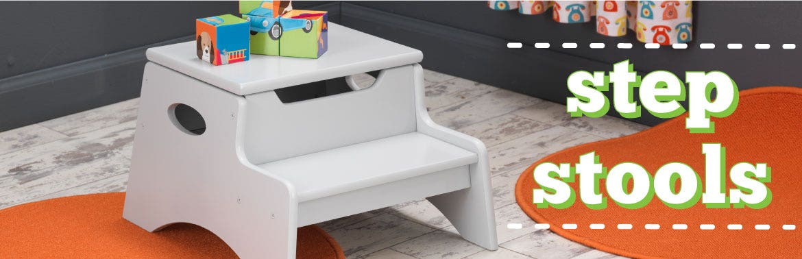 Awe Inspiring Kids Step Stools Kidkraft Evergreenethics Interior Chair Design Evergreenethicsorg