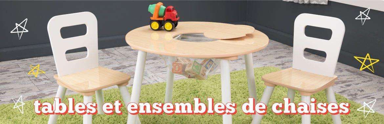 Tables et ensembles de chaises