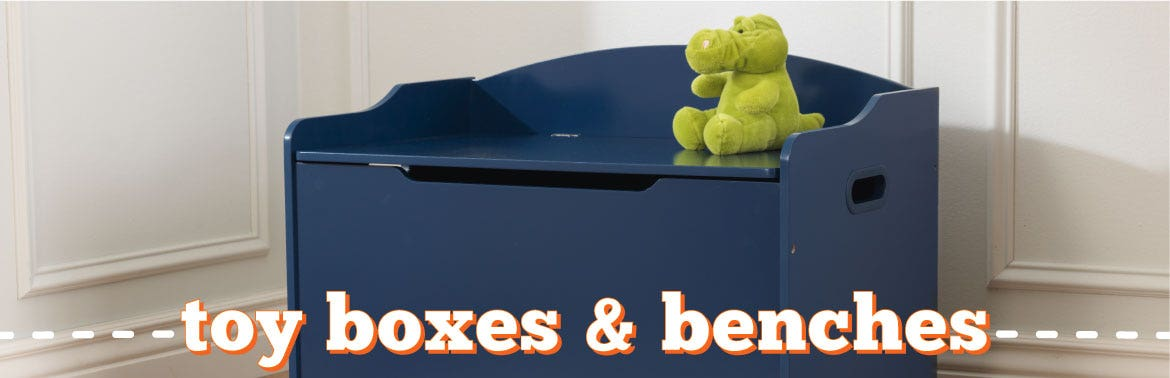 Toy Boxes & Benches