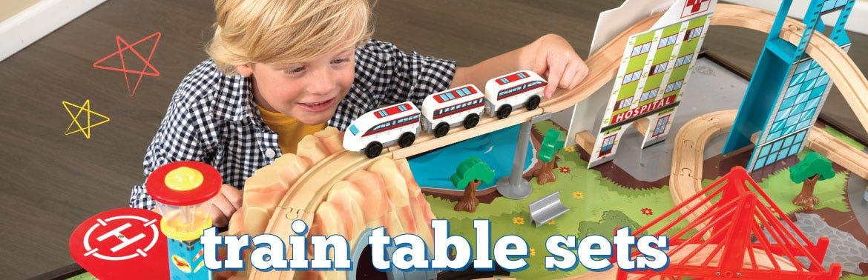 Train Sets & Tables
