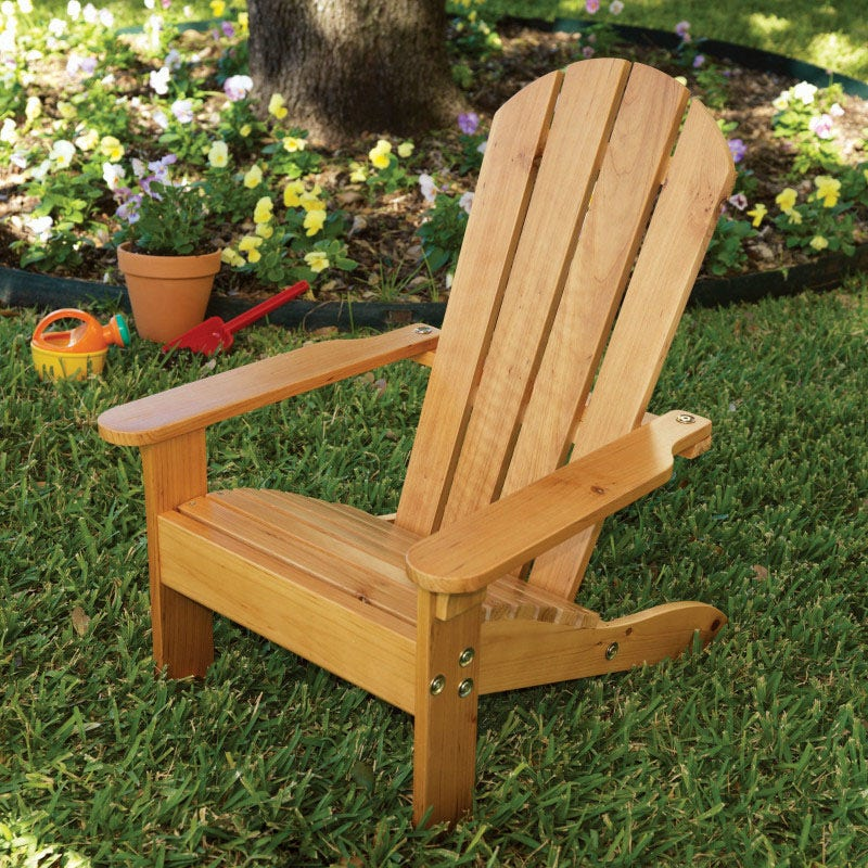 Made of weather-resistant wood