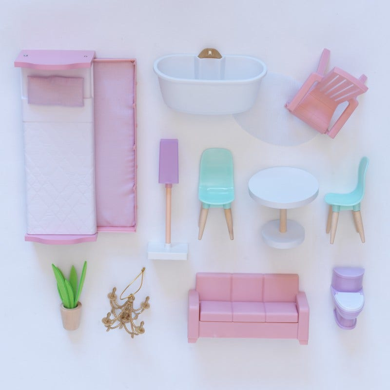 12 Accessories Included