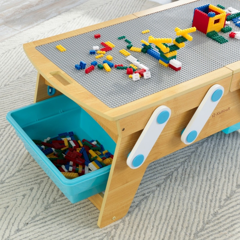 Compatible with LEGO®, DUPLO® and other major building brick brands