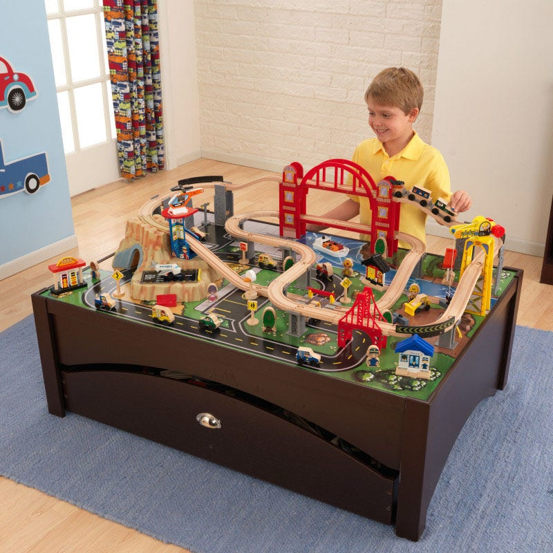 Big enough for kids to play together