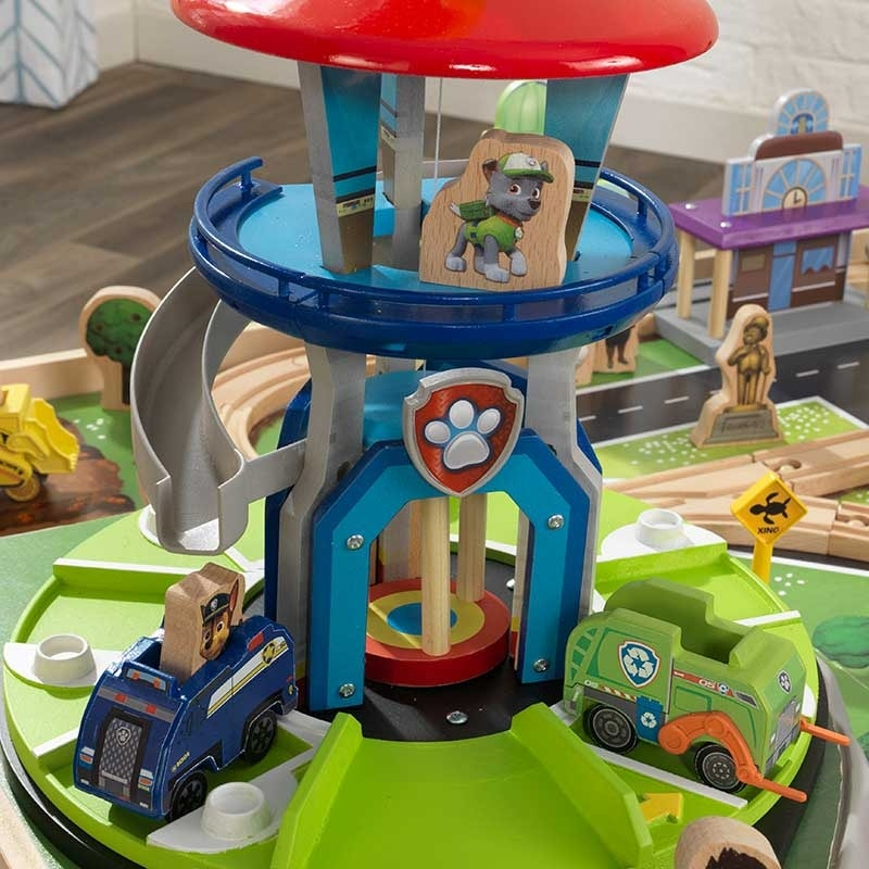 Rotating Lookout Tower with working slide