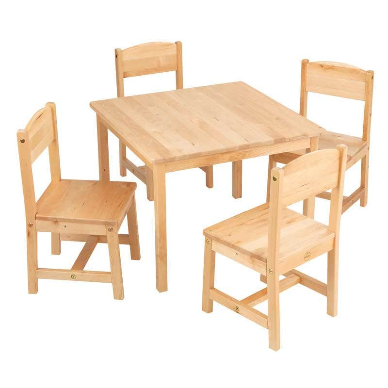 Place Anywhere. Playroom, bedroom or living room, this table and chair set will look amazing anywhere the kids frequent. Use for playing games, coloring or doing homework—it's versatile and necessary.