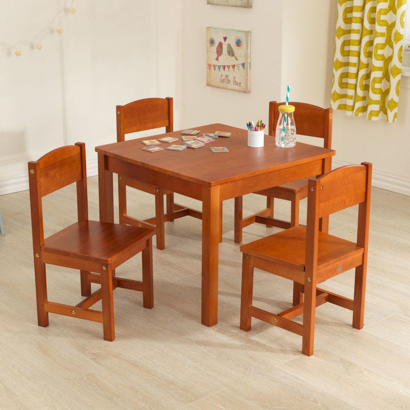 Includes 4 chairs