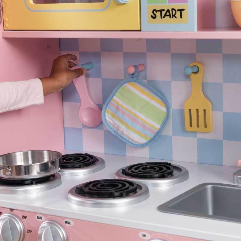Large Pastel Kitchen Kids Play Kitchen Kidkraft