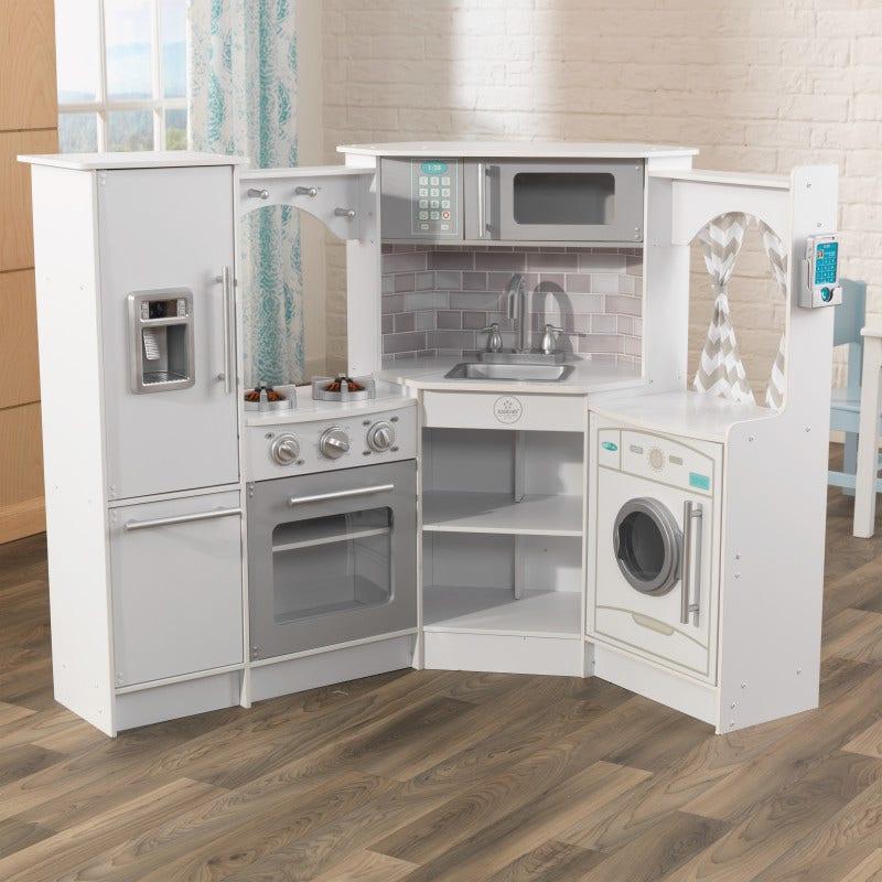 Ultimate Kids Corner Kitchen White Kidkraft Europe