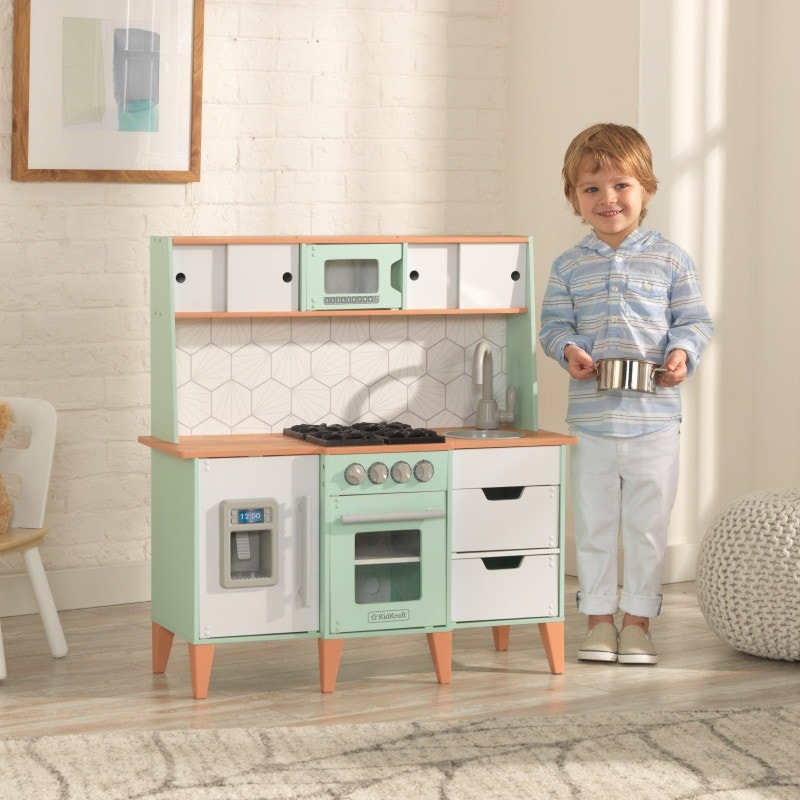 3 modes of play – kids can cook, clean and organize