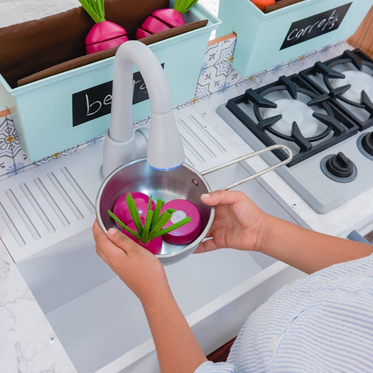 Farmhouse Play Kitchen With Ez Kraft Assembly Kidkraft