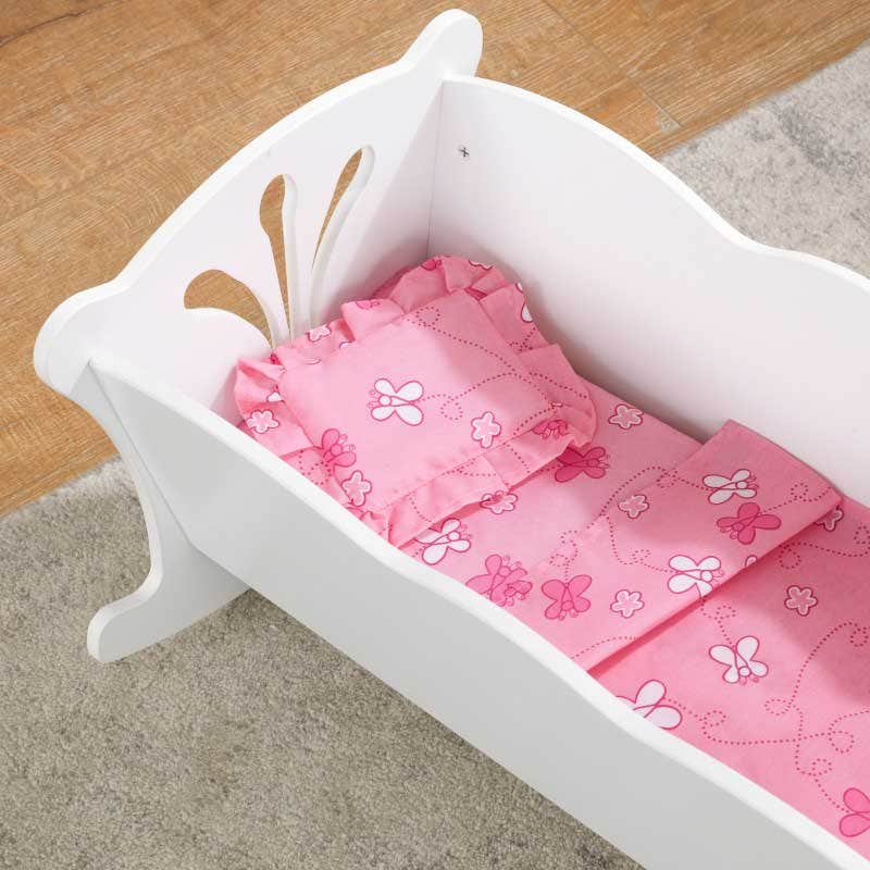 Includes comforter, pad and pillow