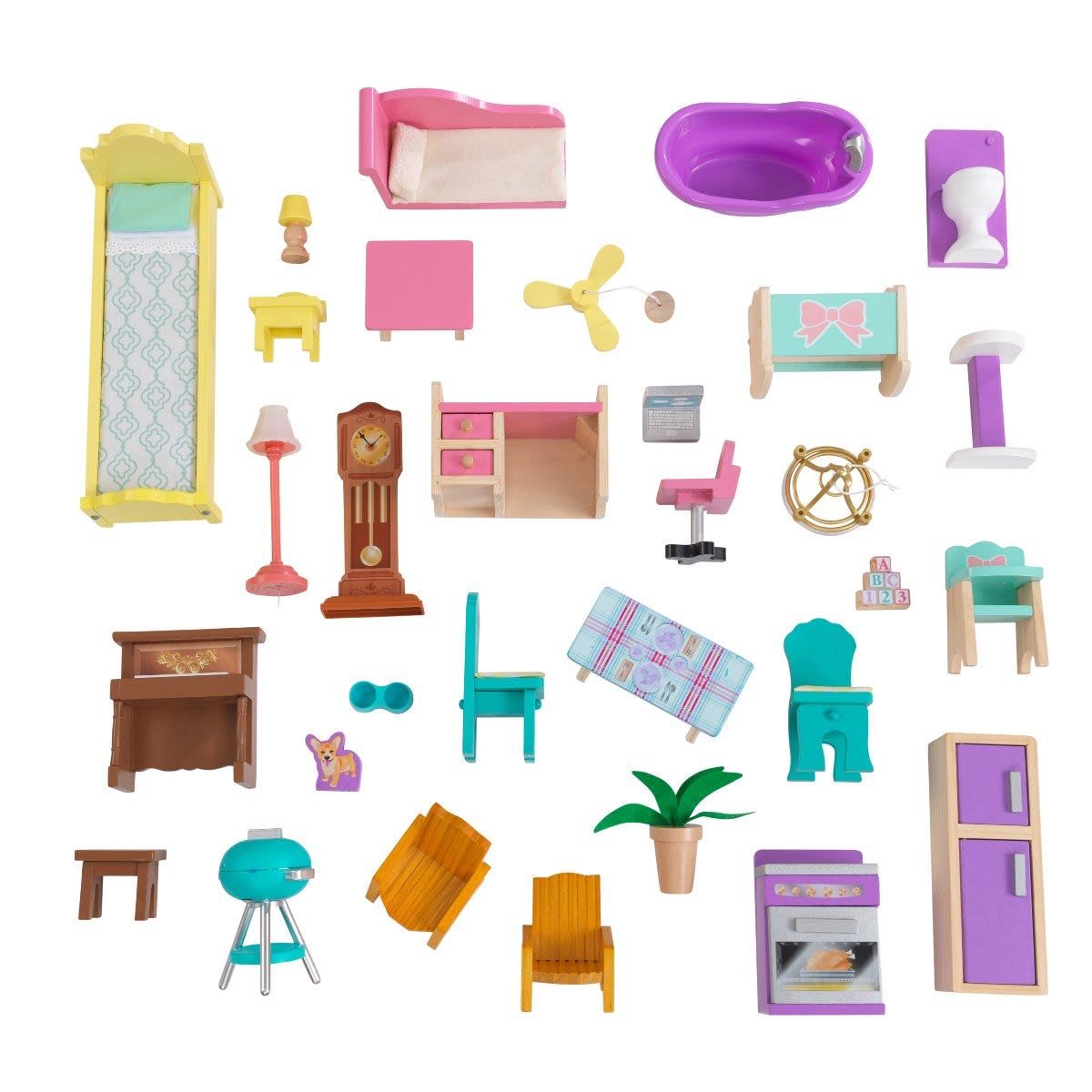 A 31-piece accessory pack included!