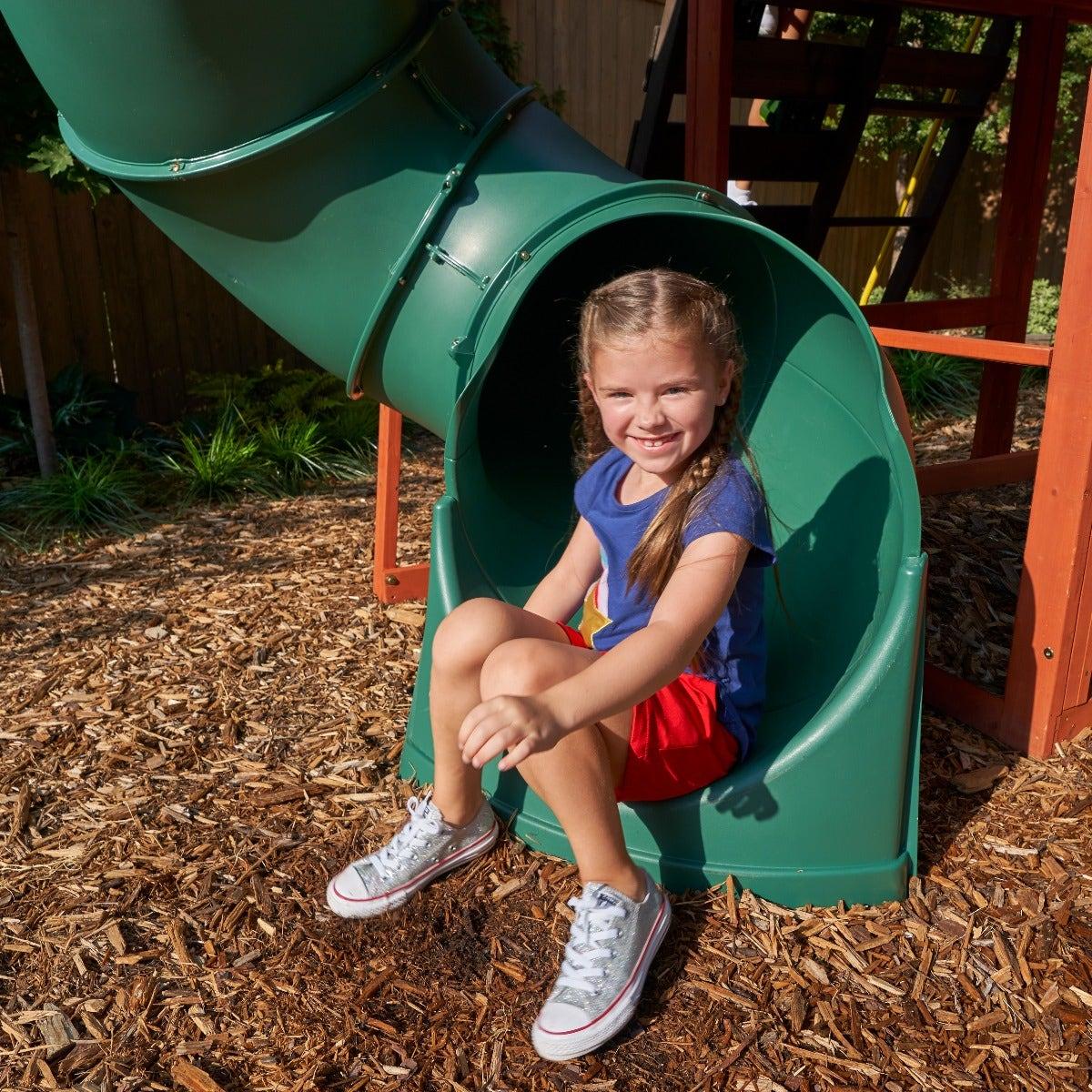 Twist-n-Ride tube slide