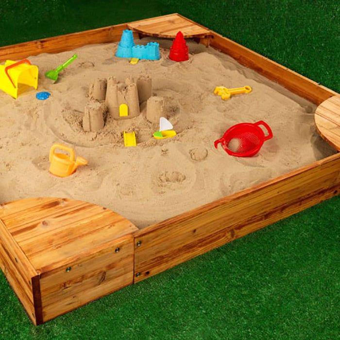 Kidkraft Backyard Sandbox backyard sandbox - honey