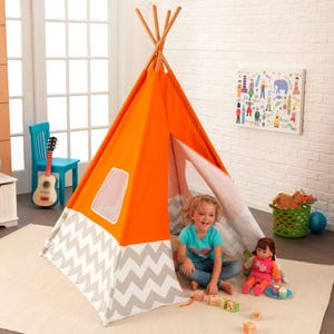 Deluxe Play Teepee - Orange