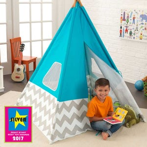 Deluxe Play Teepee - Turquoise