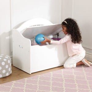 Limited Edition Toy Box - White