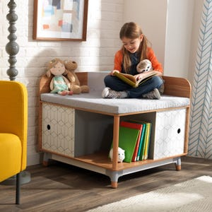 Mid-Century Kid Corner Reading Nook