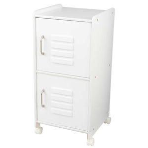Medium Locker - White