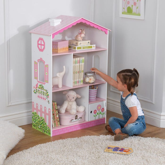 Dollhouse Cottage Bookcase
