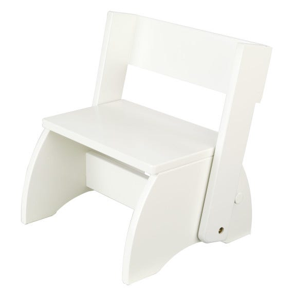 Works as a stool or a chair