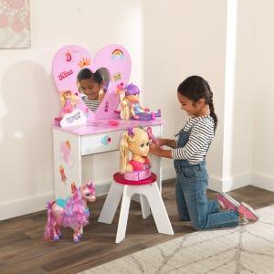 KidKraft Love Diana™ Heart Vanity Toy Set