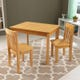 Avalon Table II & 2 Chair Set - Natural