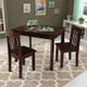 Table et 2 chaises Avalon Expresso