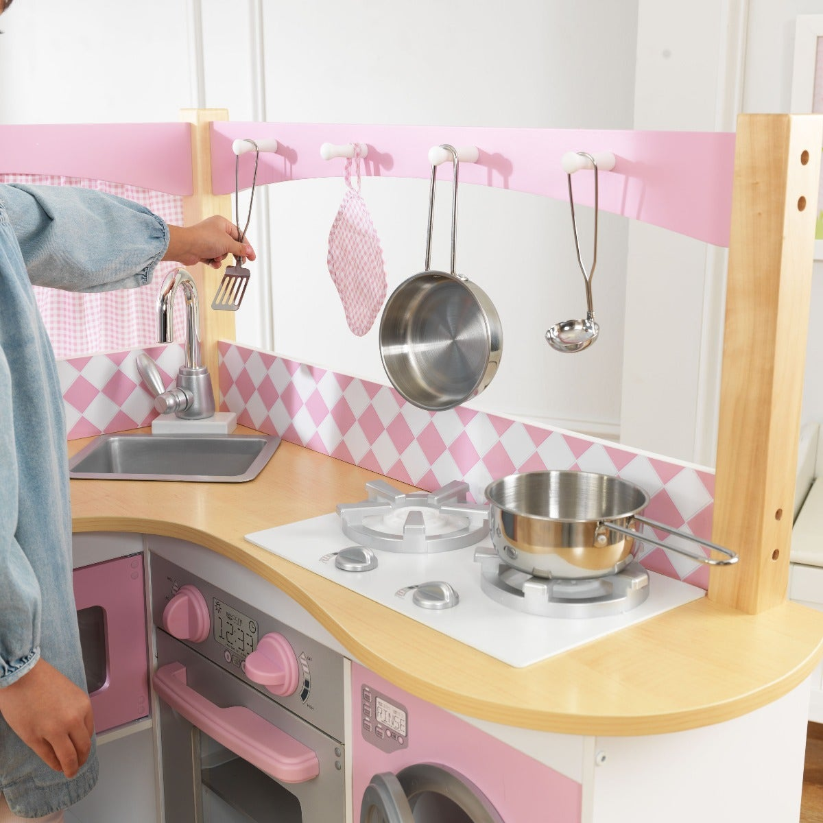 Kidkraft Corner Kitchen: Grand Gourmet Corner Play Kitchen