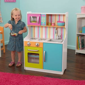 Bright Toddler Play Kitchen