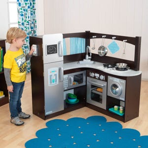 Espresso Grand Gourmet Play Kitchen