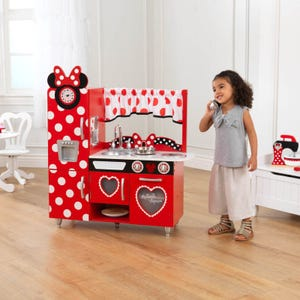 Disney® Jr. Minnie Mouse Vintage houten kinderkeuken
