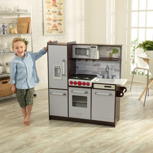 Uptown Elite Espresso Play Kitchen with EZ Kraft Assembly ™