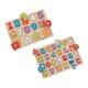 Set van 2 educatieve houten puzzels