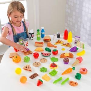 65-pc Play Food Set