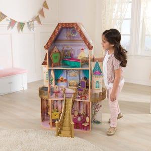 Casa de muñecas encantada de Bella de Princesas Disney® de madera