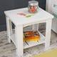Addison Toddler Side Table - White