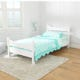 Addison Twin Size Bed - White