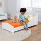 Nantucket Toddler Bed - White