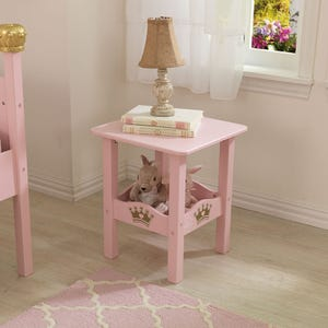 Princess Twin Side Table