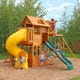Skyline II Wooden Swing Set