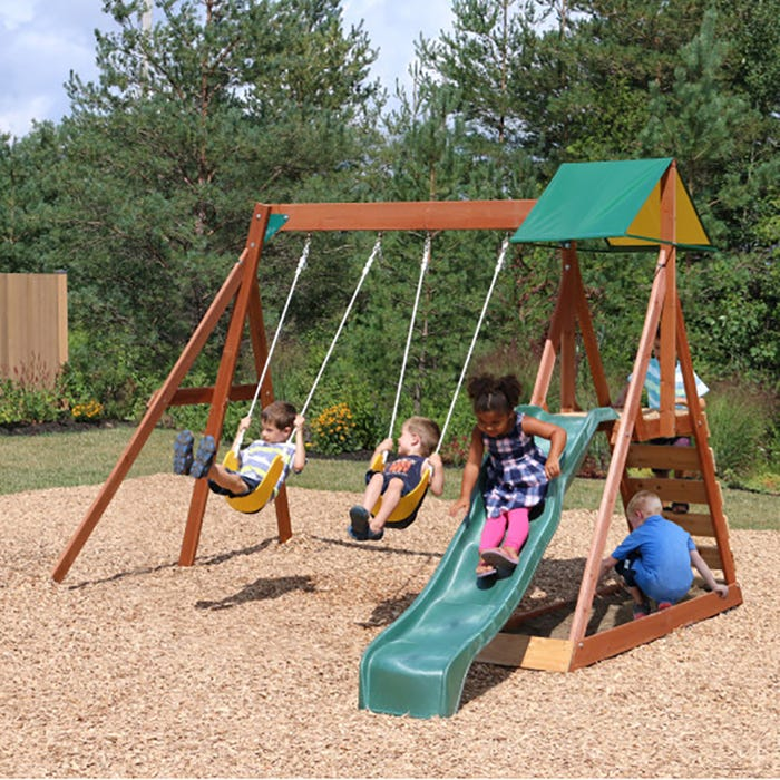 Sunview Ii Wooden Playset